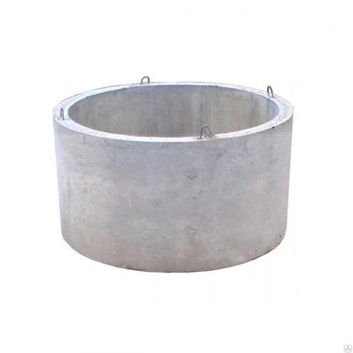 Колодезные кольца с дном и с замком
