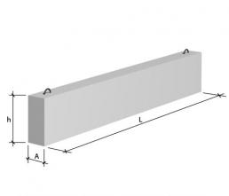 Балки обвязочные прямоугольного сечения