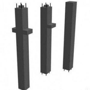 Колонны поперечного сечения 400-400