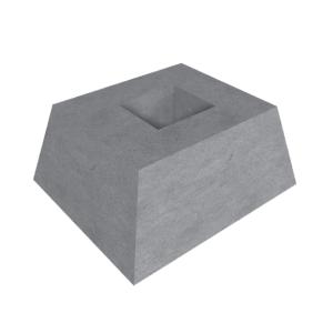 Фундаменты для плит забора